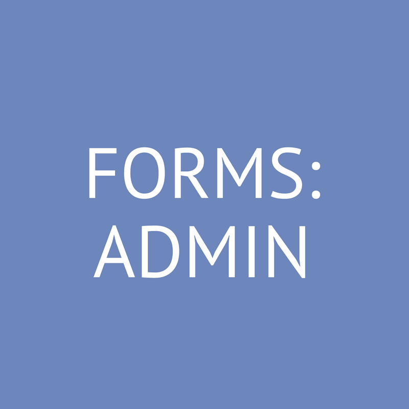 Forms: Administration