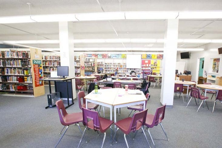 Alpha High School Library