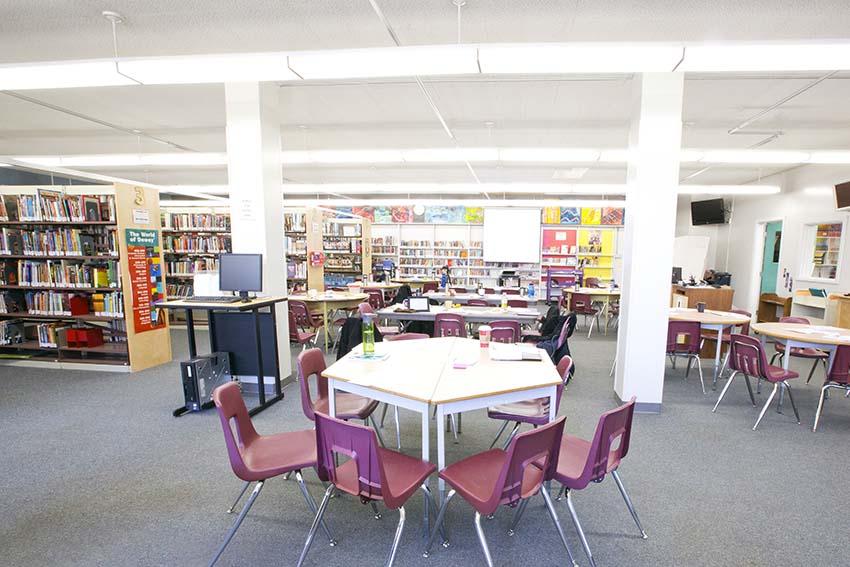 Alpha High School Library
