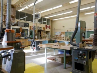 Alpha High School Woodshop