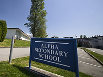Alpha Secondary School Burnaby Canada
