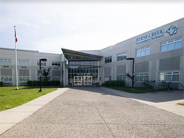 Byrne Creek Burnaby Secondary School