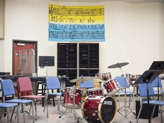 Burnaby Central Secondary Music Class