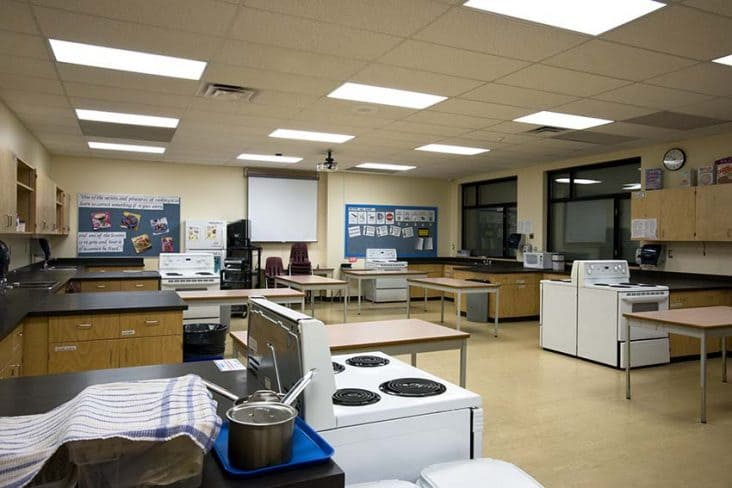 Burnaby Central Secondary Food Services Classroom