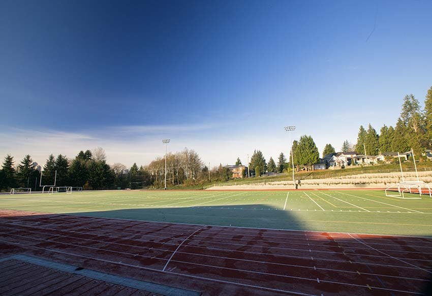 Burnaby Central Secondary Sports Field