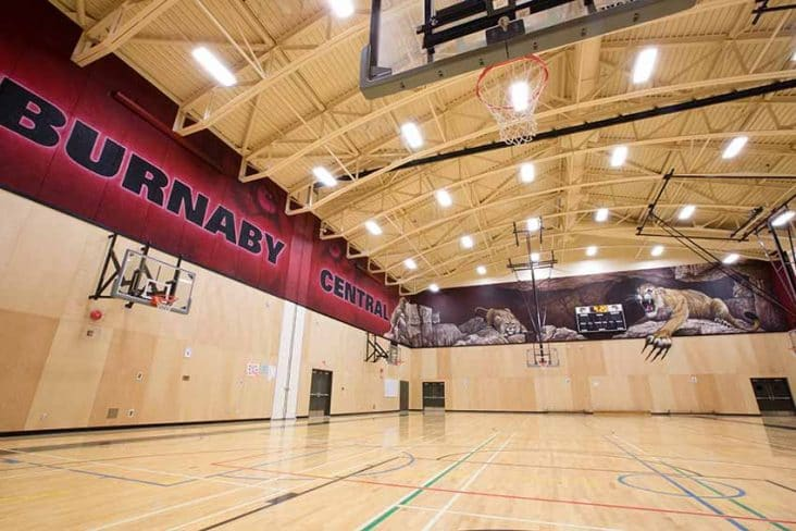 Burnaby Central Secondary Gym