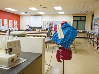 Burnaby Central Secondary Sewing Class