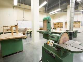 Burnaby Central Secondary Woodshop