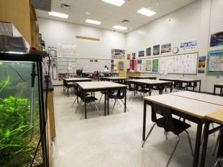 Burnaby Mountain Secondary Classroom