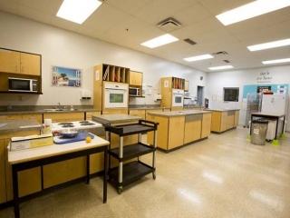 Burnaby Mountain Secondary Foods Classroom