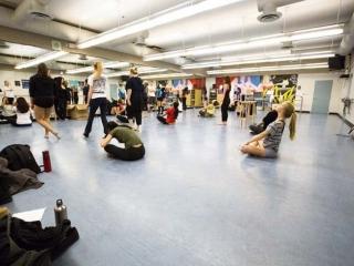 Burnaby Mountain Secondary Dance Studio