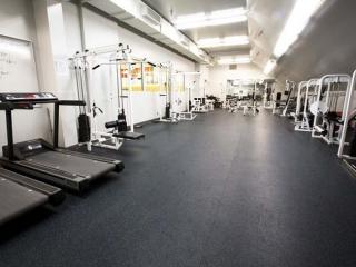 Burnaby Mountain Secondary Fitness Room