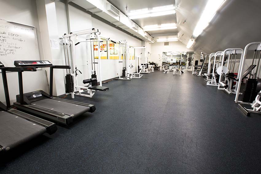 Burnaby Mountain Secondary Fitness Room