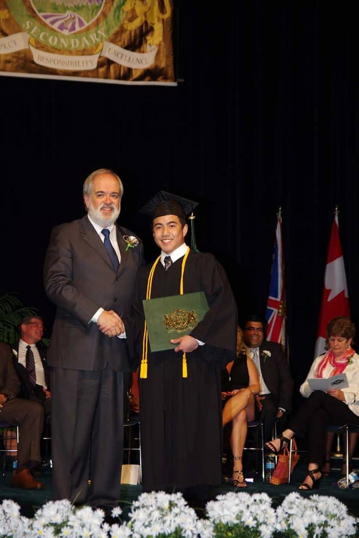 Burnaby Mountain Secondary Graduation