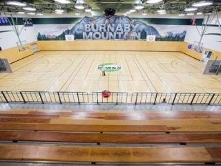 Burnaby Mountain Secondary Gym