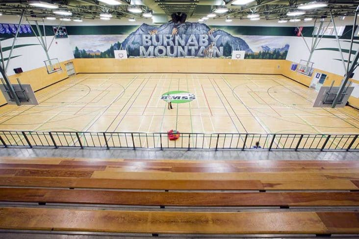 Burnaby Mountain Secondary Gym
