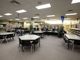 Burnaby Mountain Secondary Library