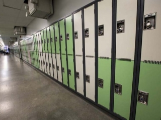Burnaby Mountain Secondary Lockers