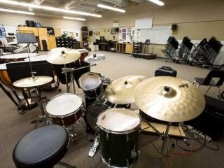 Burnaby Mountain Secondary Music Room