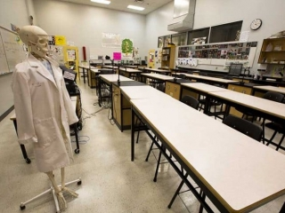 Burnaby Mountain Secondary Science Class