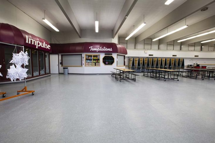Burnaby North Secondary Cafeteria