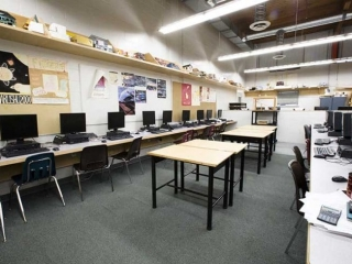 Burnaby North Secondary Computer Room
