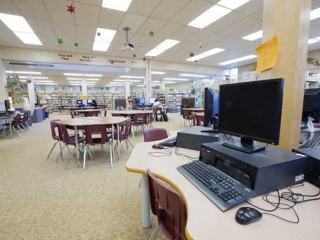 Burnaby North Secondary Library