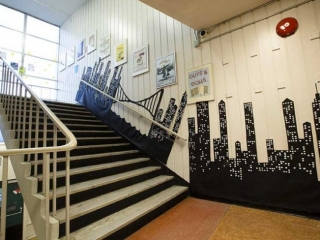 Burnaby North Secondary Stairs