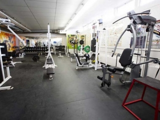 Burnaby North Secondary Weight Room