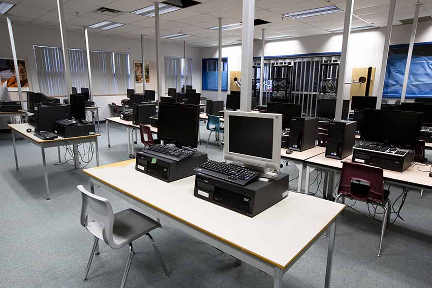 Burnaby South Secondary Computer Lab