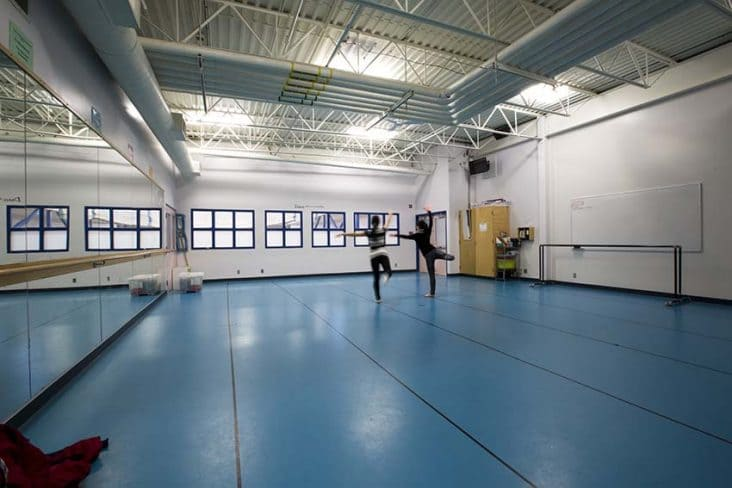 Burnaby South Secondary Dance Studio
