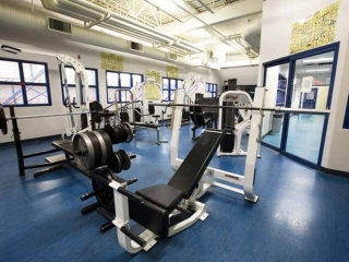 Burnaby South Secondary Exercise Room