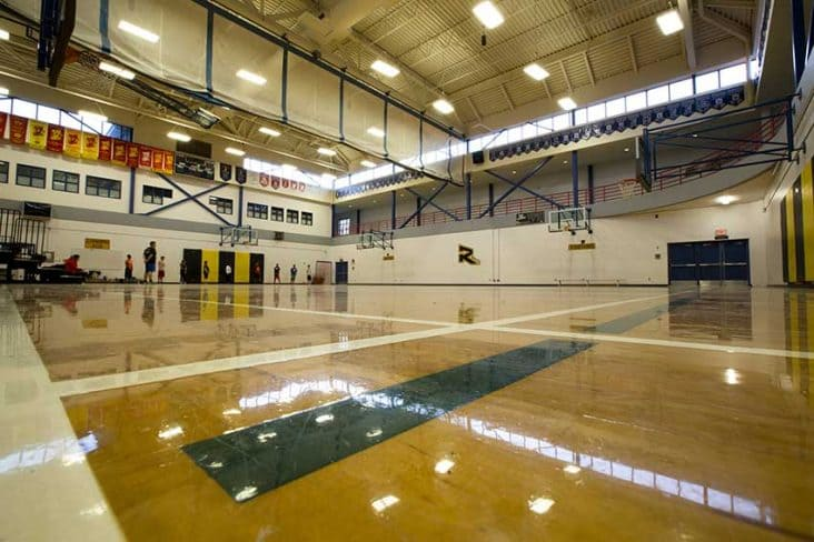 Burnaby South High School Gym Basketball