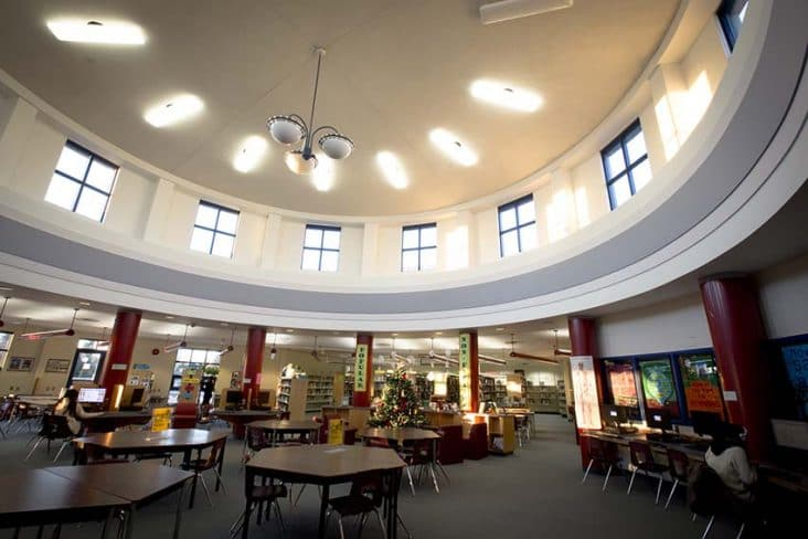 Burnaby South Secondary Library