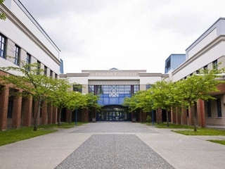 Burnaby South Secondary School Exterior