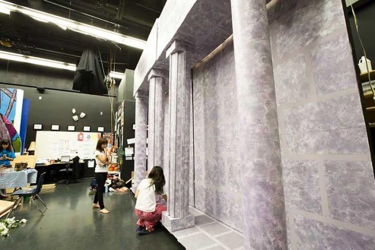 Byrne Creek Secondary Drama Class