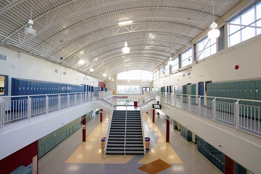 Byrne Creek Secondary Burnaby School District Bc Canada