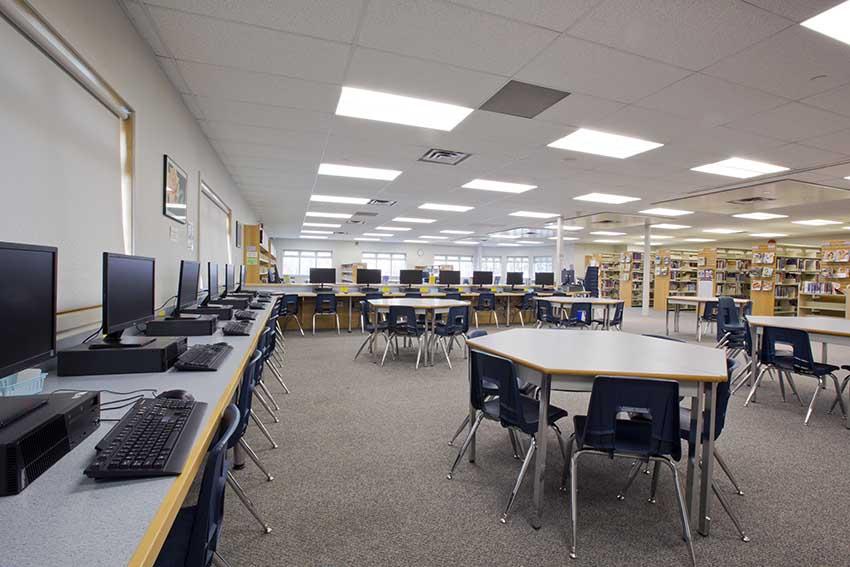 Cơ sở vật chất hiện đại luôn có tại các trường thuộc Burnaby School District