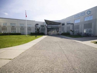 Byrne Creek Secondary School Exterior