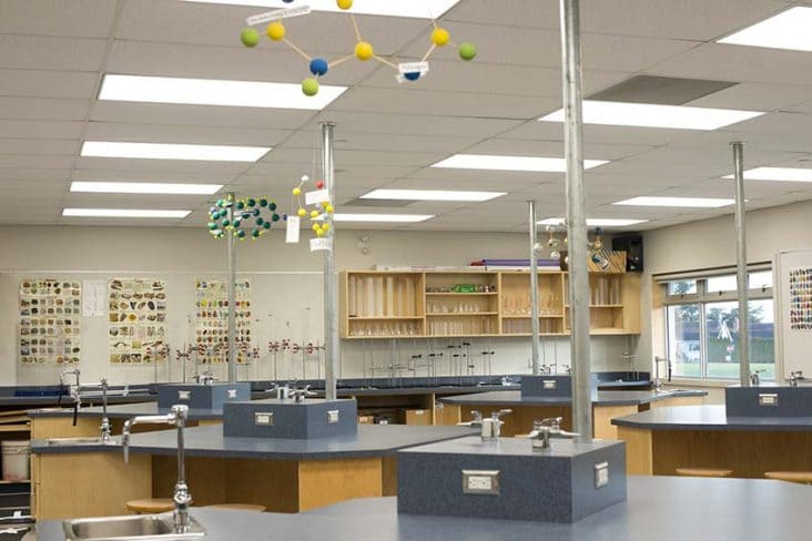 Byrne Creek Secondary Science Class