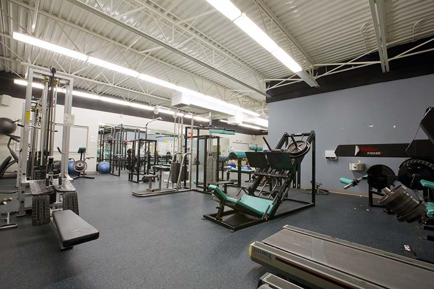 Byrne Creek Secondary Weight Room