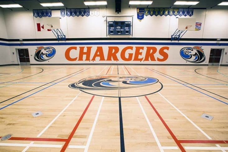 Cariboo Hill Secondary Gym
