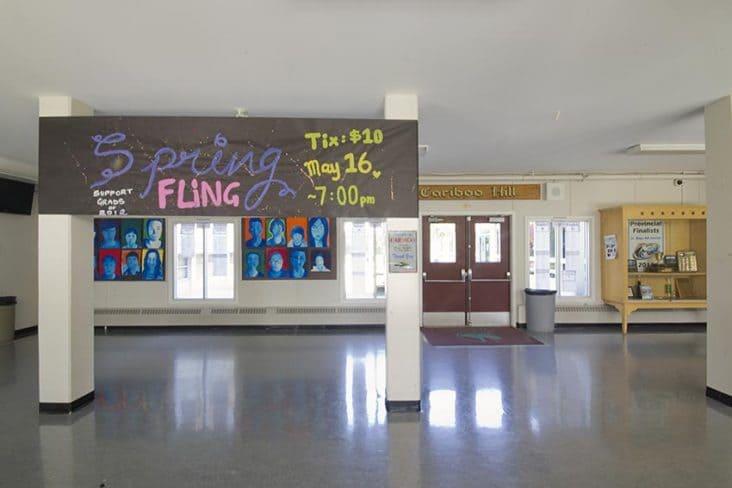 Cariboo Hill Secondary Hallway