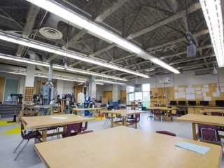 Moscrop Secondary Woodworking Classroom