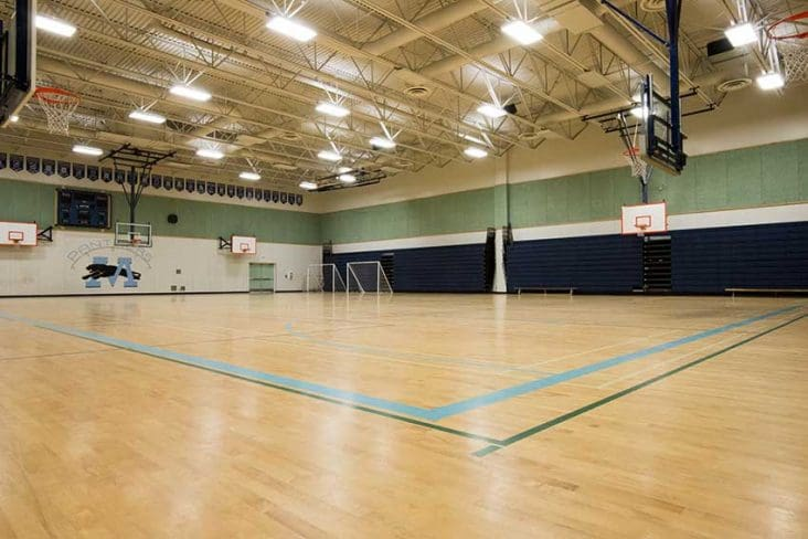 Moscrop Secondary Gym