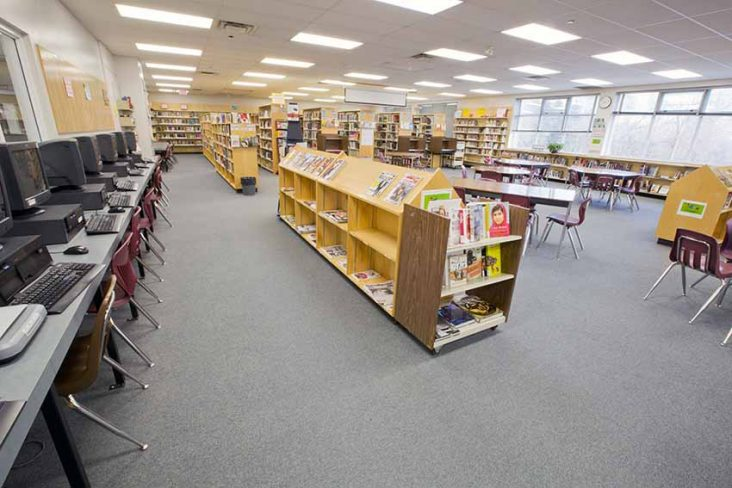 Moscrop Secondary Library