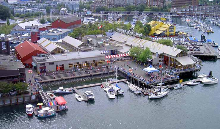 Public Market Granville Island Vancouver