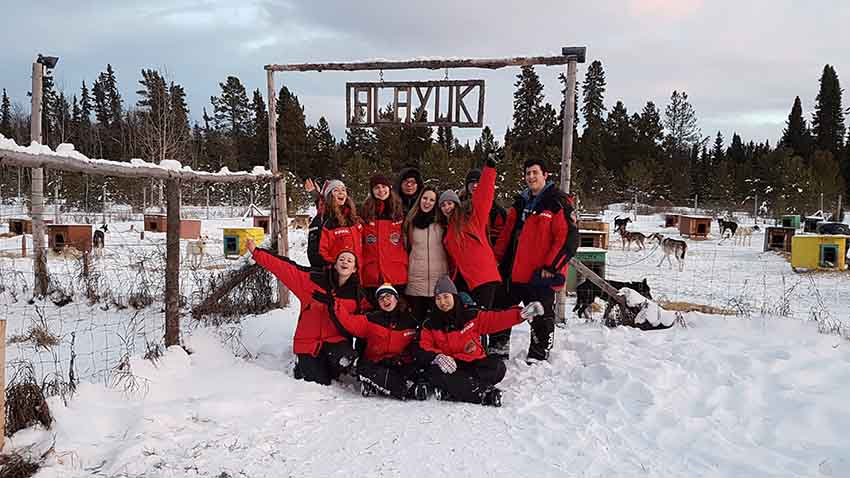 Yukon Adventure Trip Group - Alayuk Adventures