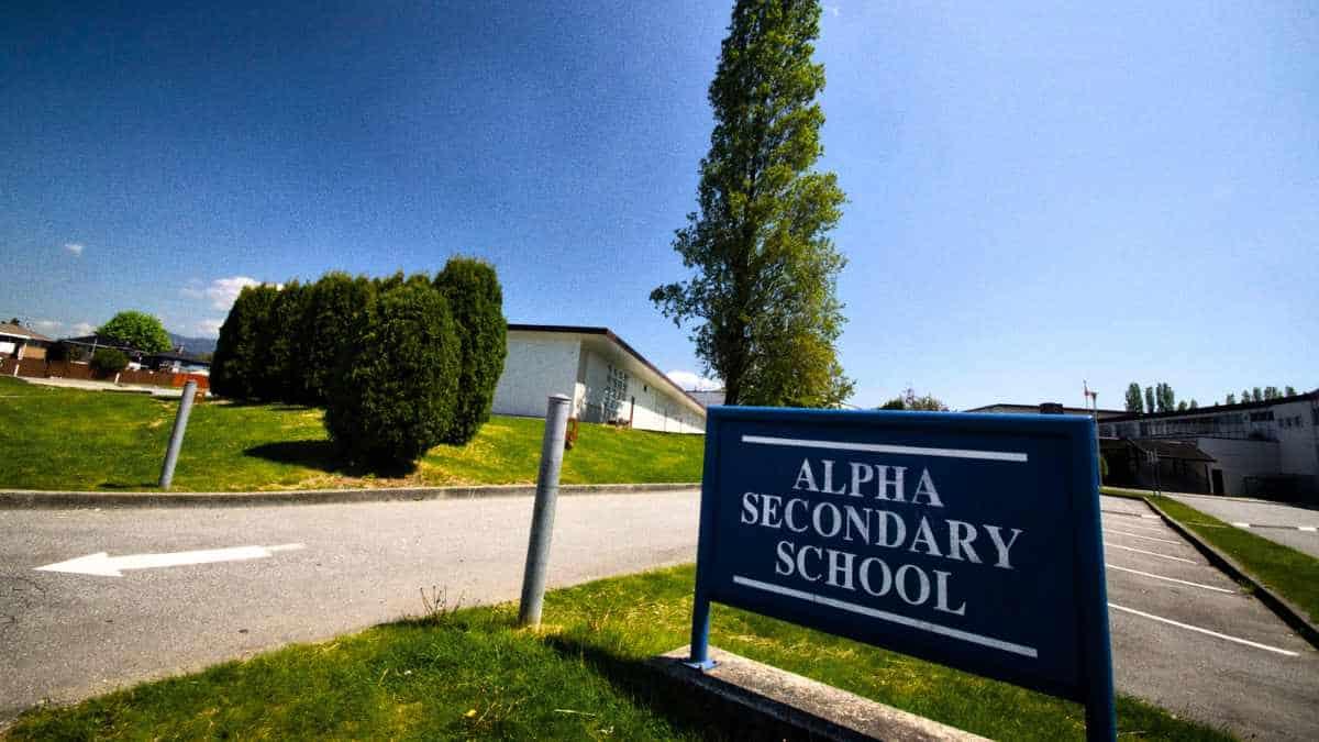 Alpha Secondary School Exterior