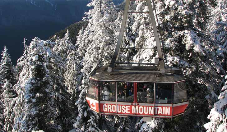 Burnaby Winter vancouver Ski Mountains Snow